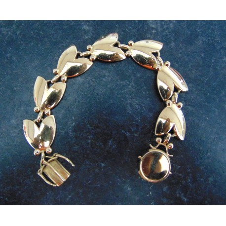 Georg Jensen Tulip Bracelet in 18ct yellow Gold