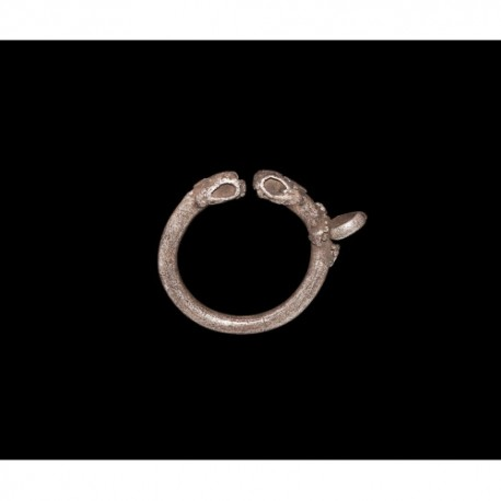 1st millennium AD. Western Asiatic Torc-Shaped Pendant
