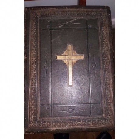 mid 19th century Pulpit Bible by London Virtue and co